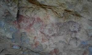 Pinturas rupestres en Morella